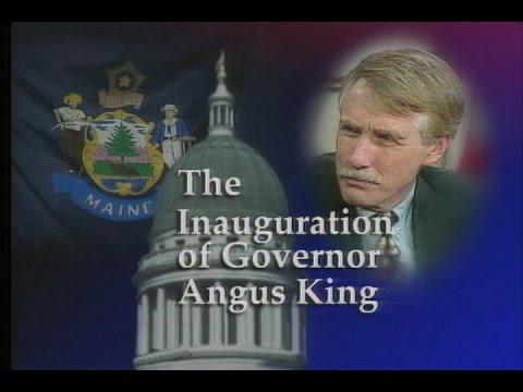 1999 Inauguration of Maine Governor Angus King