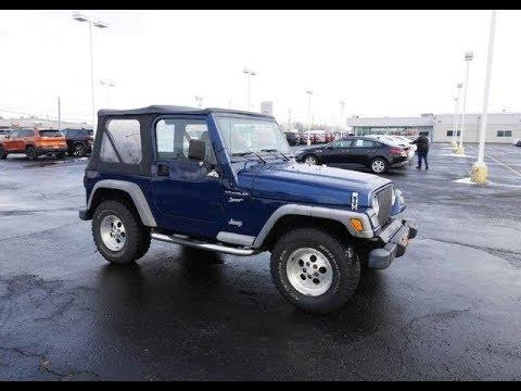 2002 jeep wrangler se for sale dayton troy piqua sidney ohio 28120bt youtube. Black Bedroom Furniture Sets. Home Design Ideas