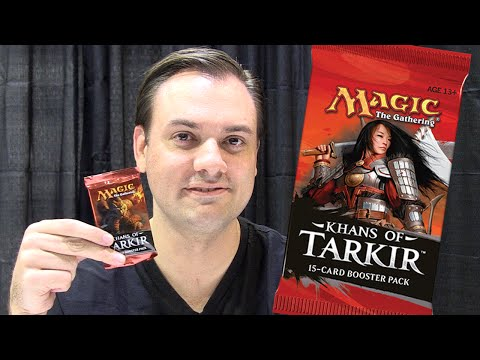 Khans of Tarkir Crack-A-Pack with Marshall Sutcliffe