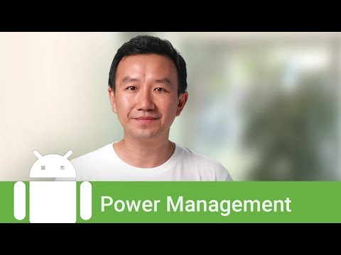 Working with Android's power management features