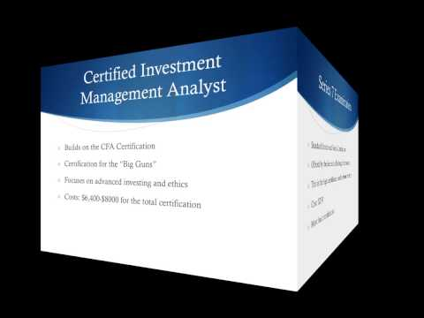 Financial Certifications