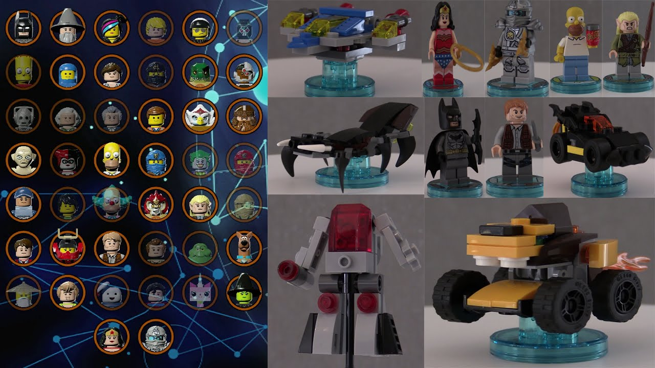 lego dimensions unboxing youtube