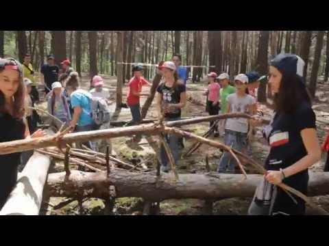 """Дитячий табір ДВІЖОК 1 зміна - """"Туристичний день"""""""