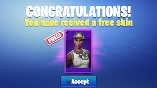 I got gifted the RECON EXPERT in Fortnite for FREE... (rarest skin)