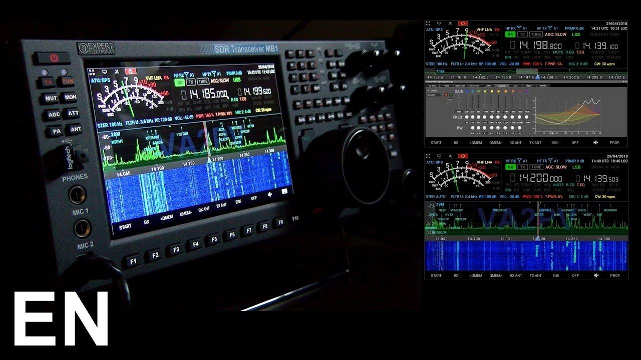MB1 High End HF, 6m & 2m SDR Transceiver