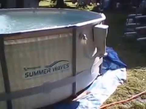 14x42 Summer Waves Pro Series Swimming Pool Youtube