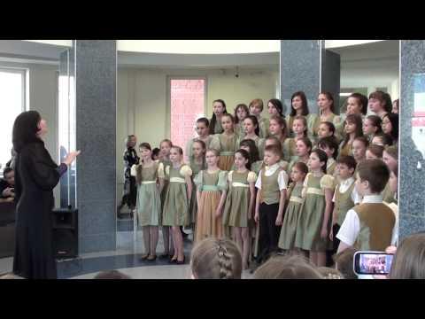 """Я. Дубравин """"Рояль"""", исполняет Концертный хор """"Перезвоны"""""""