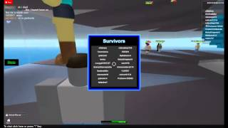 Roblox Natural Disaster [DOUBLE DISASTER] NEW UPDATE!!!