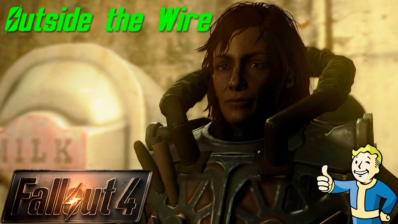 Fallout 4 Outside The Wire Youtube