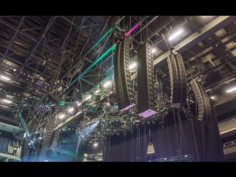 "Linkin Park ""The Hunting Party"" Tour 2014 • System Tech Vic Wagner about the Sound and JBL VTX"