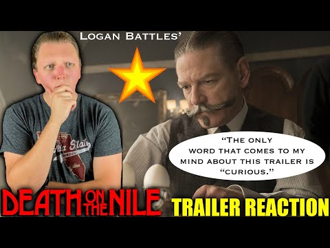 Death on the Nile | Official Trailer REACTION!