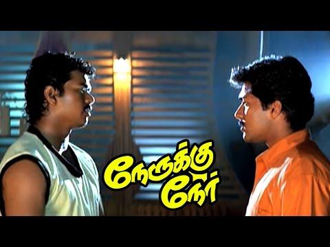 Nerukku Ner Movie Scenes | Raghuvaran informs Karan has kidnapped Baby Jennifer | Suriya | Vijay