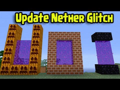 minecraft-ps3,-ps4,-xbox,-wii-u---custom-nether-portal-glitch-(tu25/tu26-title-update)