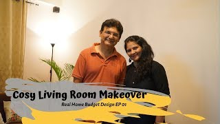 INDIAN LIVING & DINNING ROOM MAKEOVER ( ** With Reaction**)  || RHBD EP01 || INTERIOR MAATA