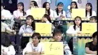 anza ohyama famile quiz in sakurakko club.