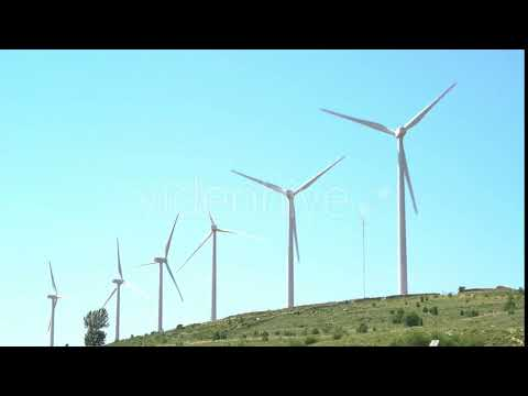 Wind Power Field. Renewable Energy | Stock Footage - Videohive