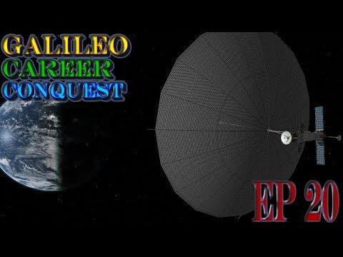 Kerbal Space Program Galileo Career Episode 20: A very freaking big Antenna!!