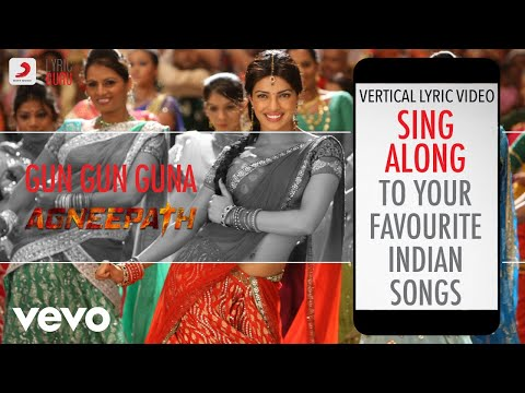 Gun Gun Guna - Agneepath|Official Bollywood Lyrics|Udit Narayan|Sunidhi Chauhan