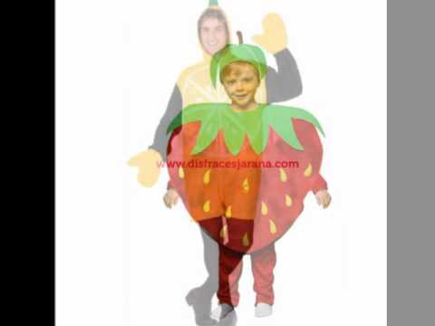 Disfraces de frutas youtube - Disfraces de pina para ninos ...