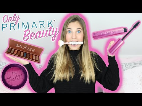 I Only Used PRIMARK Beauty Products | Makeup Haul | Rosie McClelland