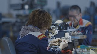 vuclip THE GUNPLA FACTORY -BANDAI HOBBY CENTER- Promotional Video