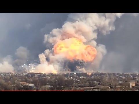 Взрыв в Дзержинске. Explosion In Dzerzhinsk.