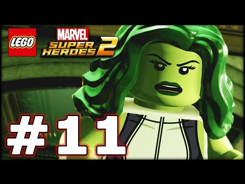 LEGO Marvel Superheroes 2 - Part 11 - Noir! (HD Gameplay Walkthrough)