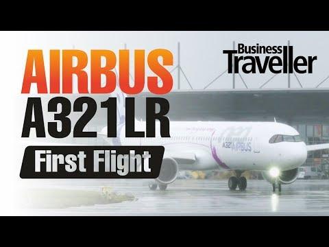 Airbus A321LR Long Range First Flight, Hamburg 31st January 2018 - Business Traveller