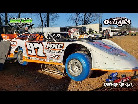 #97 Michael Chilton - World of Outlaws - 3-22-19 Duck River Raceway Park - In Car Camera