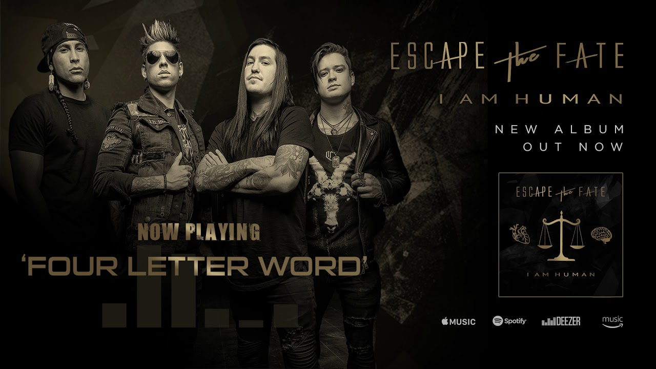 Download Escape The Fate - Four Letter Word (Official Audio)
