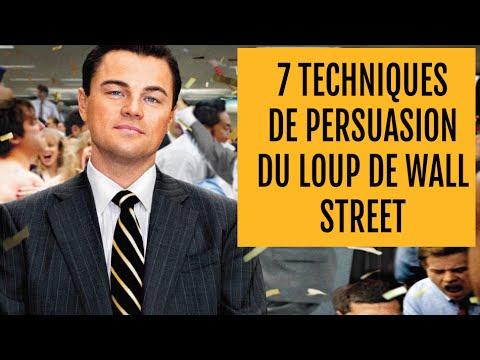 7 TECHNIQUES DE PERSUASION du Loup de Wall Street (appliquées au webmarketing)