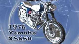 Clymer Manuals Yamaha Xs650 Vintage Classic Antique Retro Yamaha Manual Cafe Racer Video