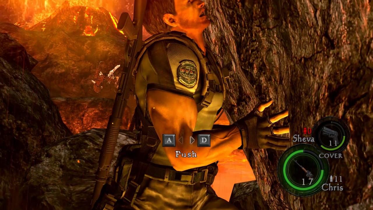 Resident Evil 5 Chris Redfield Boulder Puncher Youtube