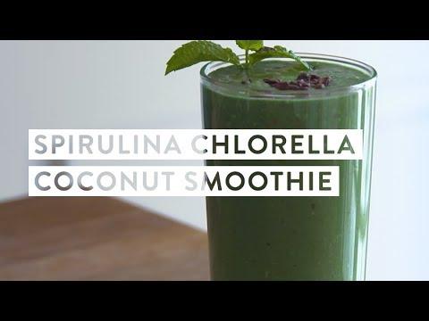 Spirulina Chlorella Coconut Smoothie Recipe Goop Youtube