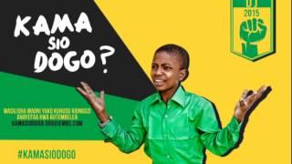 Dickson William Akitoa Maoni Yake. #KamaSioDogo
