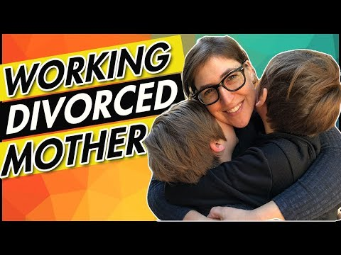 I'm A Working, Divorced Mother  Mayim Bialik