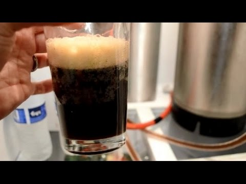Homemade Root Beer Kegging And Carbonating Youtube