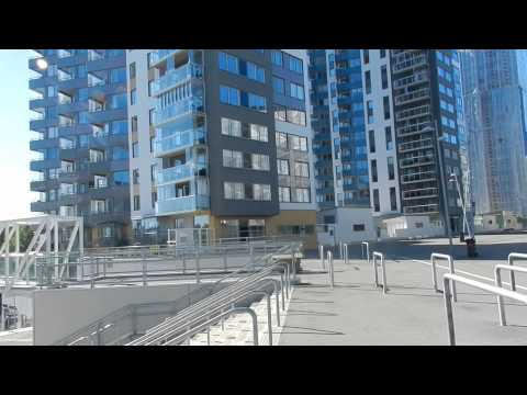 Stockholm - Construction Tour - Arenastaden (Friends arena Mall of Scandinavia) 2015 08 15