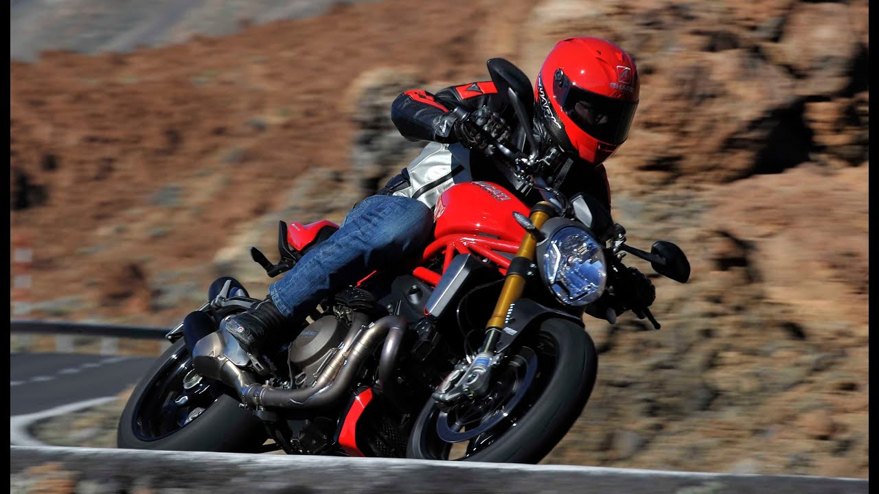 Ducati Monster 1200 launch test review 2014 - YouTube
