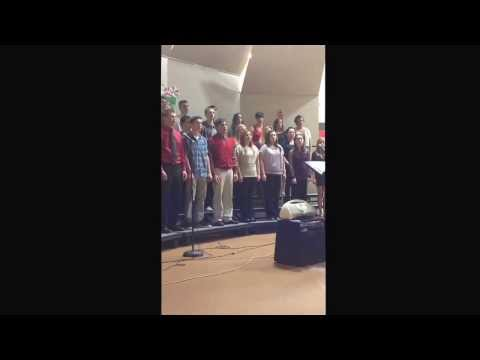 O, America by Graham and Joseph performed by the Bowler High School Choir - December 15, 2013