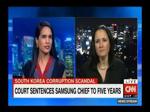 [외신반응] CNN International_삼성 이재용 부회장 재판, Samsung trial reaction