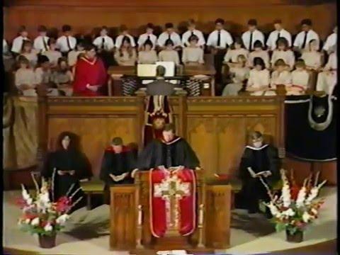 May 18, 1986 - Worship Service at FUMC Pasadena
