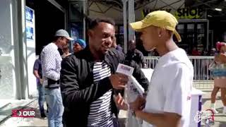 A-reece baby boy interview coverage.