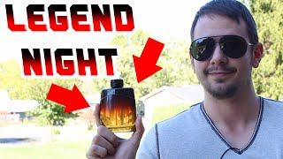 Mont Blanc Legend Night Fragrance Review | The New Legend