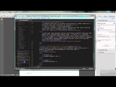 JOB 1 - Simple Website With Hyperlink Like Wikipedia