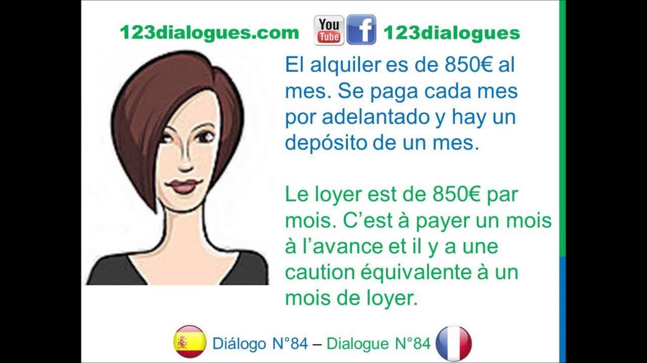Di logo 84 espagnol franc s alquilar apartamento appartement louer youtube - Casas de alquiler en francia ...