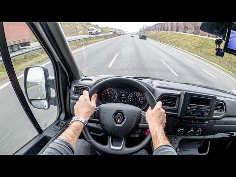 New Renault Master | 4K POV Test Drive #357 Joe Black