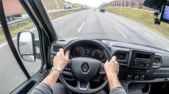 New Renault Master | 4K POV Test Drive #357 Joe Black