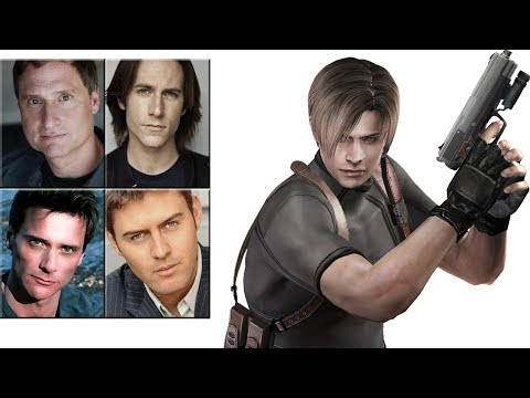 "Characters Voice Comparison - ""Leon S. Kennedy"""