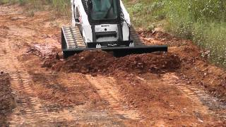 Skid Pro Skid Steer 6 Way Dozer Blade Demo